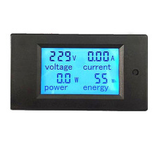 For Sale 20A Ac Digital Power Panel Meter Monitor Power Energy Voltmeter Ammeter Intl