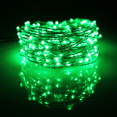 Price Comparison For 20M 200 Led Outdoor Christmas Fairy Lights Warm White Copper Wire Led Starry Lights String Light Green