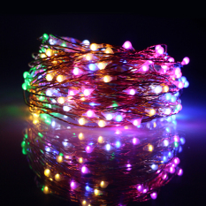 Price Compare 20M 200 Led Outdoor Christmas Fairy Lights Warm White Copper Wire Led Starry Lights String Light Multicolor