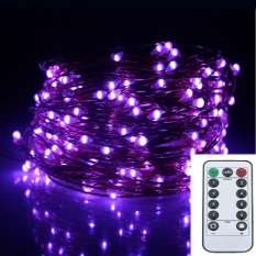 20M 200Led 8Modes Copper Wire Battery Operated Led String Light Chrismas Outdoor Fairy Lights Decoration Wedding Garland Intl Online