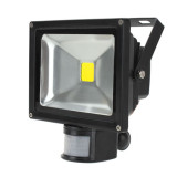 Price 20W Garden Outdoor Ip65 Pir Motion Sensor Led White Flood Light Security Lamp Online China