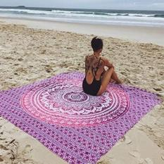 Buying 210X150Cm Printed Beach Towel Mandala Swimming Yoga Towels Intl