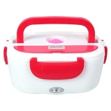220V Electric Heated Heating Lunch Box Set Food Warmer Container Bento Eu Plug Red Intl Discount Code
