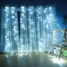 Retail Price 224Led Curtain Light Festival Decorative Light Christmas Tree Party String Light Eu Intl