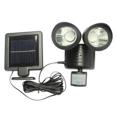 Sale 22Led Solar Powered Pir Motion Sensor Security Outdoor Garden Light Intl Oem Cheap