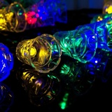 Compare Prices For 24 6Ft 7 5M 40 Led Solar Light String Bell Solar Fairy String Lights Color Intl