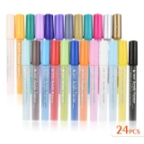 Sale 24 Colors Acrylic Painter Colorful Marker Marking Pen Highlighter Permanent Candy Color For Diy Drawing Supplies Children Intl Oem Cheap