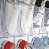 Purchase 24 Pocket Shoe Space Door Hanging Organizer Rack Wall Bag Storage Closet Holder Intl Online