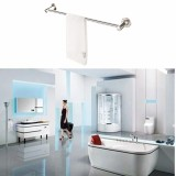 Buy 24 Stainless Steel Wall Towel Rack Mounted Bathroom Storage Railshelf Holder Silver Intl Cheap China