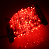 Lowest Price 24M 480 Led Outdoor Led String Lights Warm White Copper Wire Christmas Starry Fairy Lights Power Adapter Red Intl