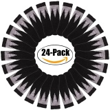 Purchase 24Pcs Chair Socks Double Layer Anti Skid Knitted Furniture Socks Furniture Leg Covers (Black) Intl Online