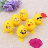 Buy 24Pcs Egg Shaped Plastic Stamps Cute Self Inking Emoji Expression Stamps Toy For Scrapbooking Decor Children Gift Lucky G Intl