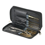 24Pcs Professional Unlocking Lock Picking Tools Set Practice Lockset Kit With Leather Case For Locksmith Beginners Intl Discount Code