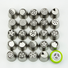 Where Can I Buy 24Pcs Russian Icing Piping Nozzles Tips Sugar Craft Pastry Tool Cake Decorating