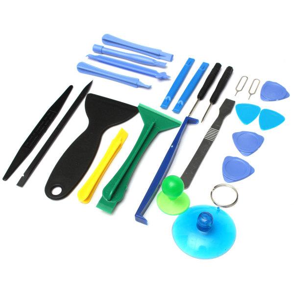 25 pcs Repair Open Pry Tools Set Kit Mobile Phone Disassemble Tool For Cellphone(Export)(INTL)