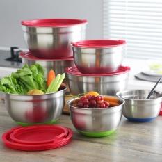 Best Buy 25 5Cm 304 Stainless Steel Diy Cake Bread Salad Mixer Kitchen Cooking Tools Intl