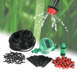 Who Sells 25M Micro Drip Irrigation System With Auto Timer Self Plant Watering Garden Hose Intl