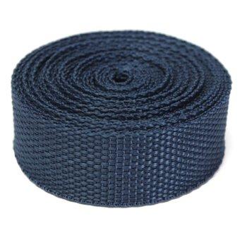 25mmx4m Roll Nylon Fabric Tape Strap Webbing Bag Binding Belt Making Craft DIY Dark Blue