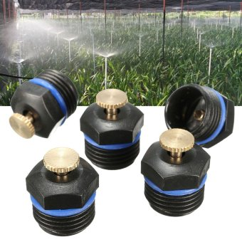25pcs Garden Water Lawn Irrigation Spray System Sprinkler Head Plant Flower Cooling