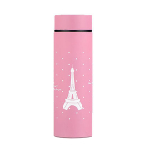 260Ml Eiffel Tower Stainless Steel Thermos Mug Thermal Bottle Vacuum Flasks Pink For Sale