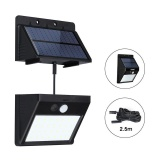 Review 28 Leds Solar Motion Sensor Light Super Bright Waterproof Outdoor Three Modes Security Separable Night Lamp For Garden Wall Intl Solar Light
