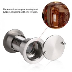 28mm Wide Viewing Angle Peephole Door Viewer With Heavy Duty Privacy Cover - Intl By Highfly.