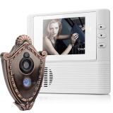 Sale 2 8 Screen 300K Pixel Door Camera Doorbell Two In One Electronic Peephole Viewer Intl Elecool Branded