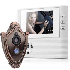 Buy 2 8 Screen 300K Pixel Door Camera Doorbell Two In One Electronic Peephole Viewer Intl Cheap China