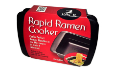 Great Deal 2Pc Rapid Ramen Cooker Microwave Perfect Ramen Noodles In Half The Time