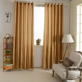Sale 2Pcs 100 250Cm Grommet Blackout Curtain Linings Panel Solid Bright Colored Window Curtains Soft Window Drape Classy Window Treatments Size 39 98 Export Oem Branded