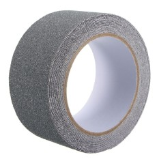Sales Price 2Pcs 5Cm X 5M Floor Safety Non Skid Tape Roll Anti Slip Adhesive Stickers High Grip Grey Intl