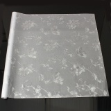Cheapest 2Pcs 60X100Cm Flower Frosted Glass Window Sticker Film Privacy Static Cover Adhesive Intl Online