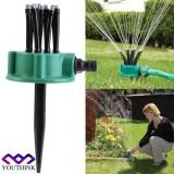 Best Rated 2Pcs Garden Plants Vegetable Adjustable Watering Sprinkler Multi Use Lawn Irrigation System Intl