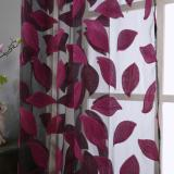 2Pcs Leaf Tulle Door Window Curtain Drape Panel Sheer Scarf Valances Intl Compare Prices
