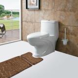 Sale 2Pcs Set Bath Non Slip Mat Toilet Contour Cover Rug Bathroom Floor Stone Pattern Intl Not Specified Wholesaler