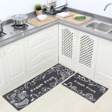 Store 2Pcs Set Non Slip Kitchen Rugs Floor Mats Water Absorbing Bath Rug Carpets For Bedrooms Durable Entrance Doormat 40X60Cm And 40X120Cm Intl Oem On China