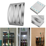 2Pcs Stainless Steel Wall Toothbrush Holder 3 Position Tooth Brush Organizer Box Non Sucker Decorative Bathroom Accessories Price