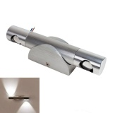 2W Aluminum Modern Led Wall Lamp Double Wall Lamp Wall Lamp Background Light Cold White In Stock