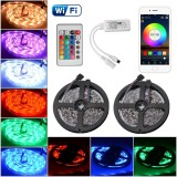 Store 2X 5M Wifi Rgb 5050 Smd Color Smart App Control Led Strip Lighting Kit Ld1143 Intl Xcsource On Singapore