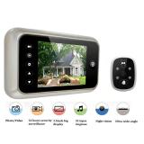 Best Offer 3 5Inch Lcd Digital Peephole Viewer 120Degrees Door Eye Doorbell