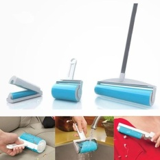 3 In 1 Schticky Washable Reusable Easy Sticky Roller Buddy Picker Sticky Roller Cleaner Lint Remover Set Intl Cheap