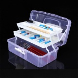 Cheapest 3 Layers Jewelry Storage Box Ring Earring Drug Pill Portable Organizer Case Intl