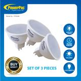 Buy 3 Pieces Powerpac Led 5W Mr16 Daylight Or Warm Light