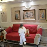 Price Comparisons Of 3 Seater Furniture Protector Quilted Slipcover Sofa Seat Cover 280X193Cm Intl