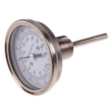 3 X 1 2 Stainless Steel Thermometer Moonshine Still Condenser Brew Mash Tun On Line