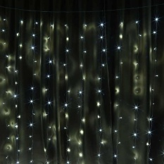 300 LED 3Mx3M String Curtain Fairy Lights Christmas Party Wedding Garden Decor - intl