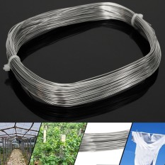 304 Stainless Steel Bright Single Wire Rope 0.6mm Dia 1/4 100ft 30m/1181.1 By Freebang.
