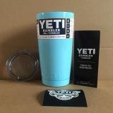 Cheapest 304 Stainless Steel Yeti Rambler Tumbler 20 Oz Yeti Coolers Cars Beer Mug Large Capacity Mug(Silver) Intl Online