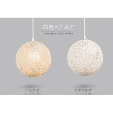 30cm Designer Decorative Goldsand Pendant Light (FREE LED BULB)