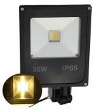 30W Pir Motion Sensor Led Flood Light Ip65 Warm White Lighting Intl Online